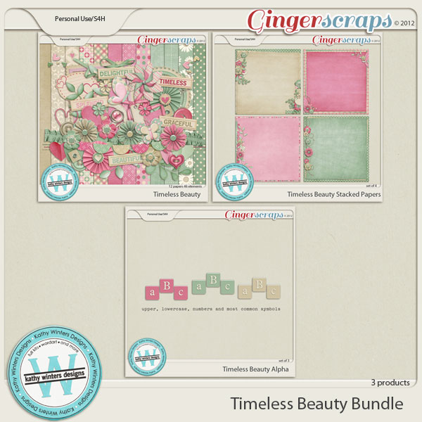 Timeless Beauty The Bundle by Kathy Winters Designs