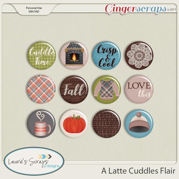 A Latte Cuddles Flairs