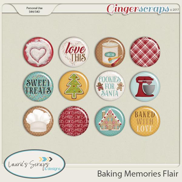 Baking Memories Flairs