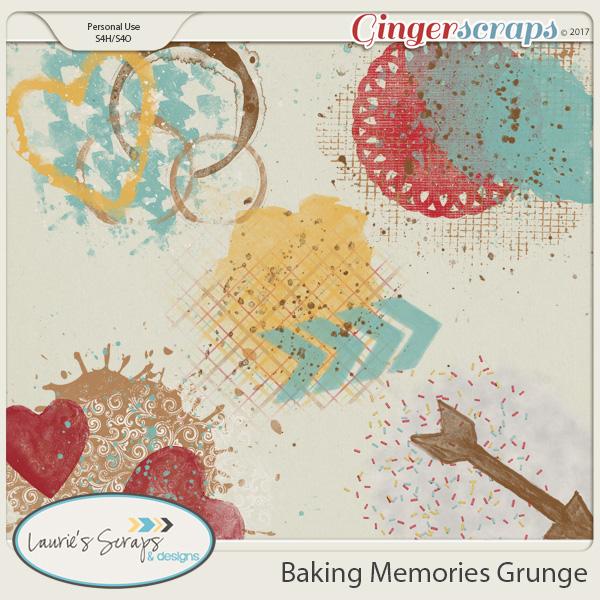 Baking Memories Grunge
