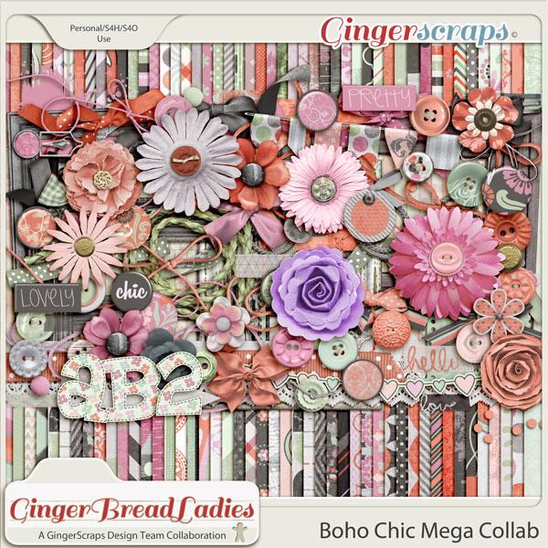 GingerBread Ladies MEGA Collab: Boho Chic