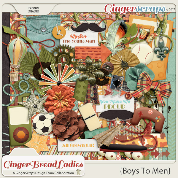 GingerBread Ladies Collab: Boys To Men