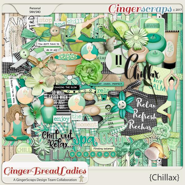 GingerBread Ladies Collab: Chillax