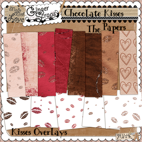 Chocolate Kisses: The Papers