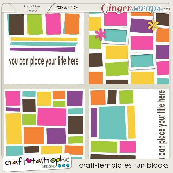 Craft-Templates Fun Blocks