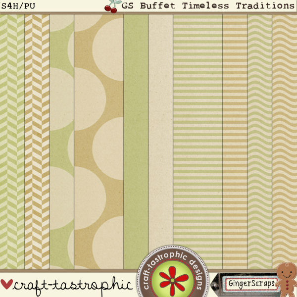 GS Buffet! Timeless Traditions-Papers by Craft-tastrophic