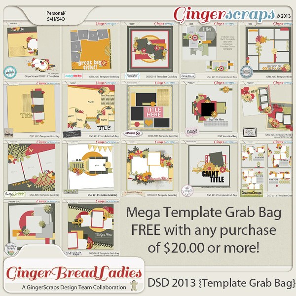 DSD 2013 {Template Grab Bag}