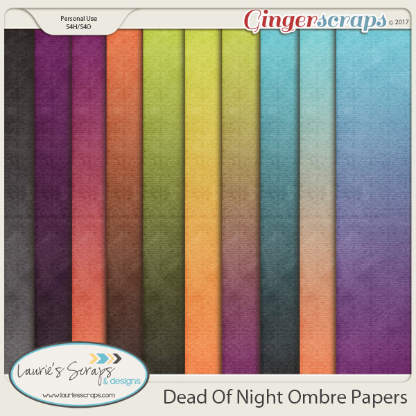 Dead Of Night Ombre Papers