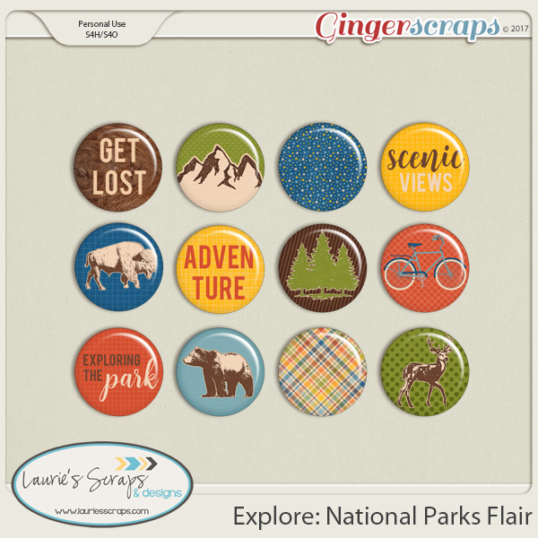 Explore: National Parks Flairs
