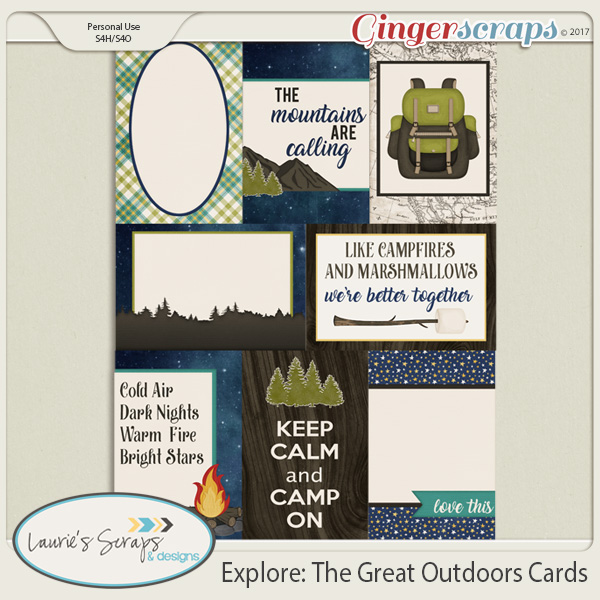 Explore: The Great Outdoors Journal Cards