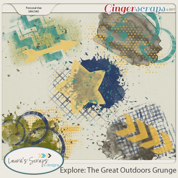 Explore: The Great Outdoors Grunge