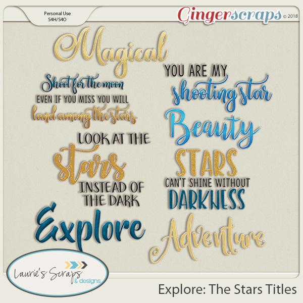 Explore: The Stars Titles