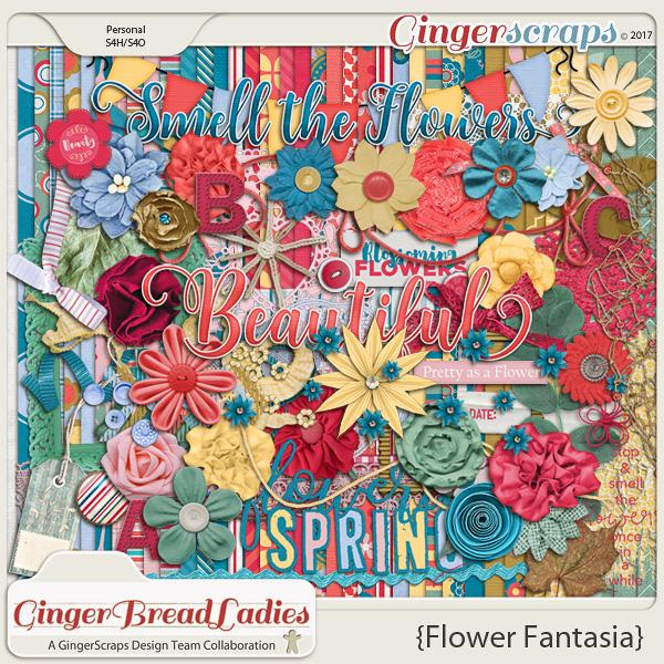 GingerBread Ladies Collab: Flower Fantasia