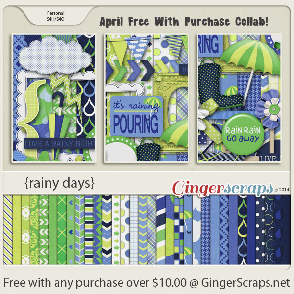 April Free With Purchase