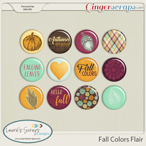 Fall Colors Flairs