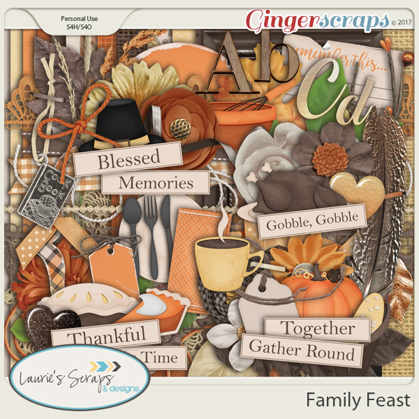 Family Feast Page Kit