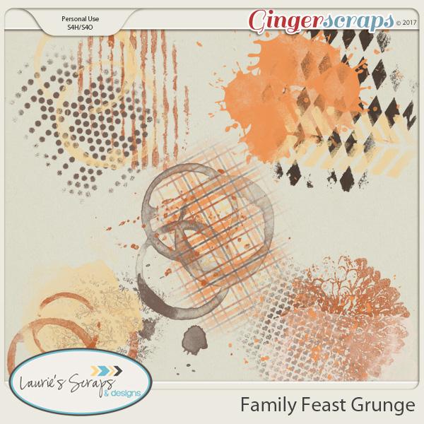 Family Feast Grunge