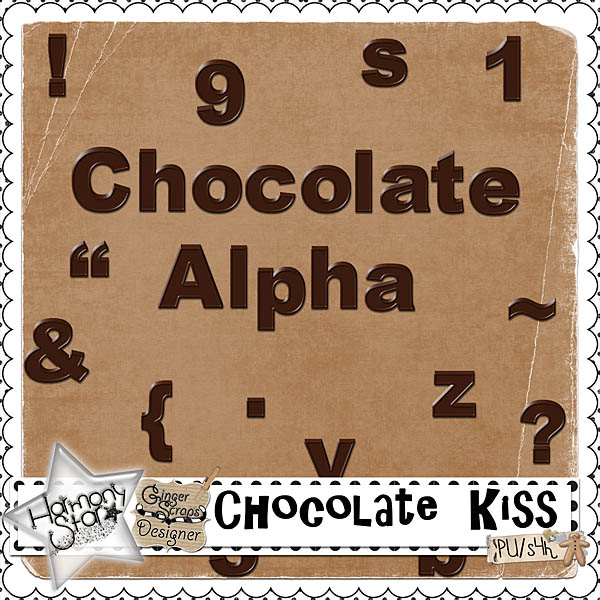 Chocolate Kisses - Chocolate Alpha