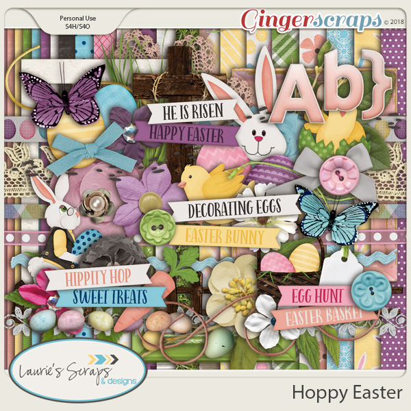 Hoppy Easter Page Kit