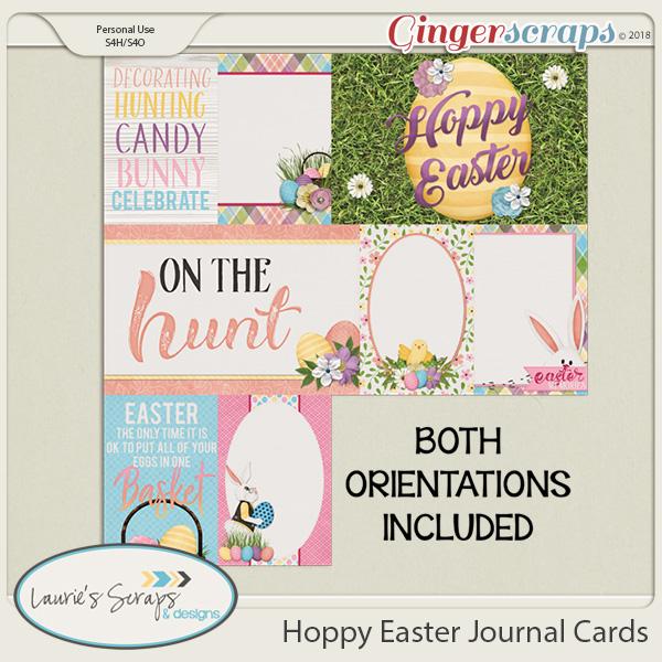 Hoppy Easter Journal Cards
