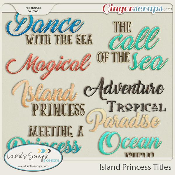 Island Princess Titles