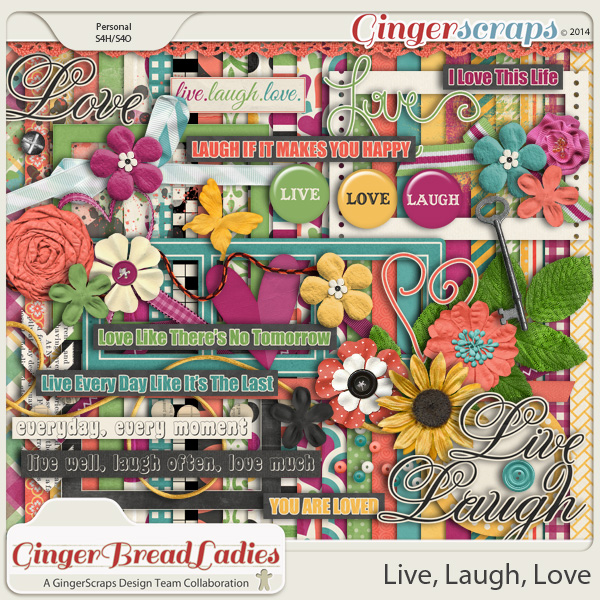 GingerBread Ladies Collab: Live, Laugh, Love