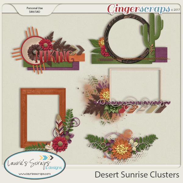Desert Sunrise Clusters
