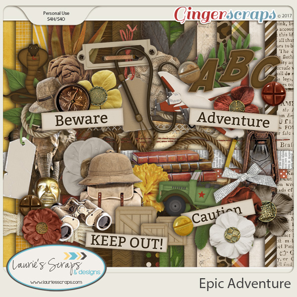 Epic Adventure Page Kit