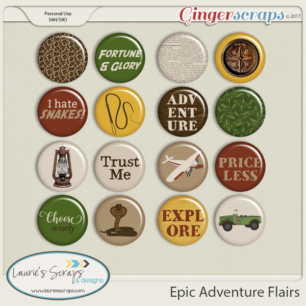 Epic Adventure Flairs