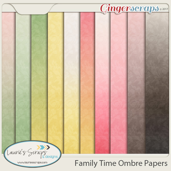 Family Time Ombre Papers