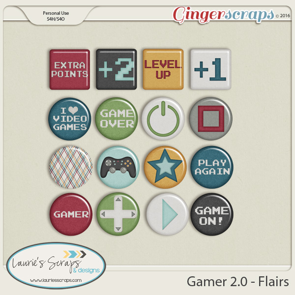 Gamer 2.0 - Flairs
