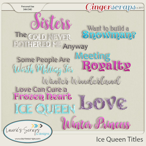 Ice Queen Titles