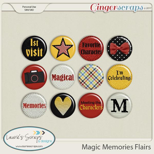 Magic Memories Flairs