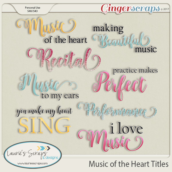Music of the Heart Titles