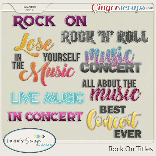 Rock On Titles