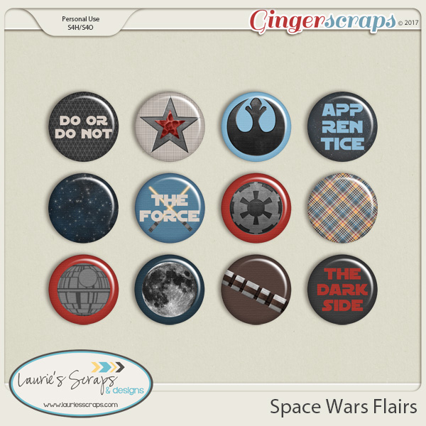 Space Wars Flairs