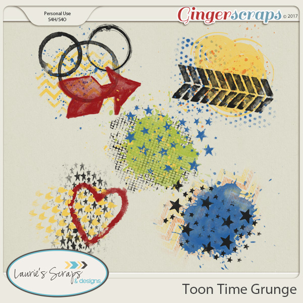 Toon Time Grunge