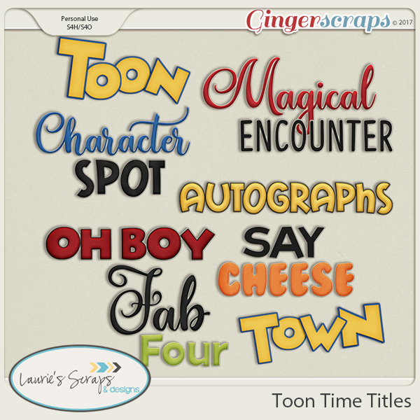 Toon Time Titles