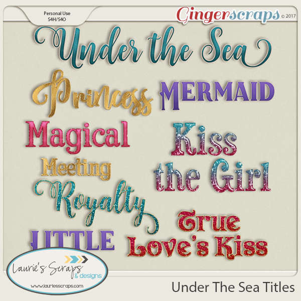 Under The Sea Titles