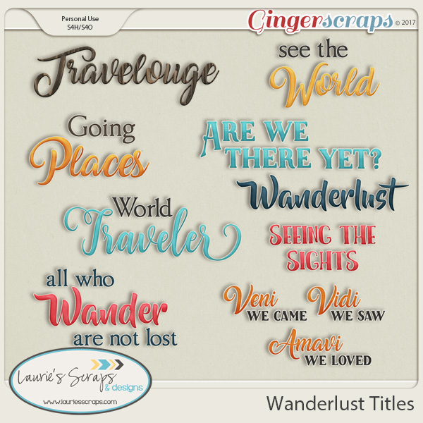 Wanderlust Titles