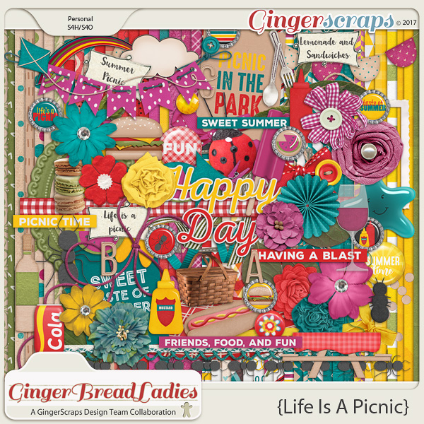 GingerBread Ladies Collab: Life Is A Picnic