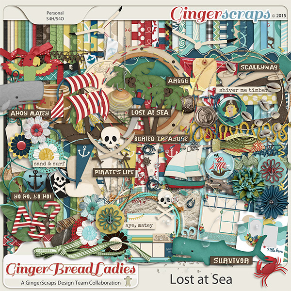 GingerBread Ladies Collab: Lost At Sea