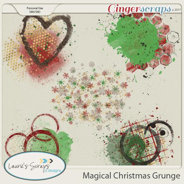 Magical Christmas Grunge