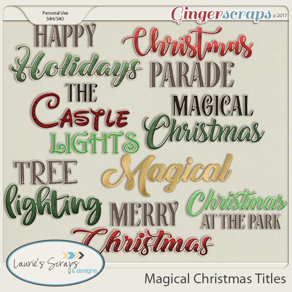 Magical Christmas Titles