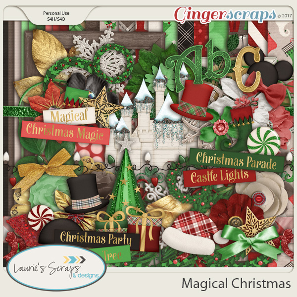 Magical Christmas Page Kit