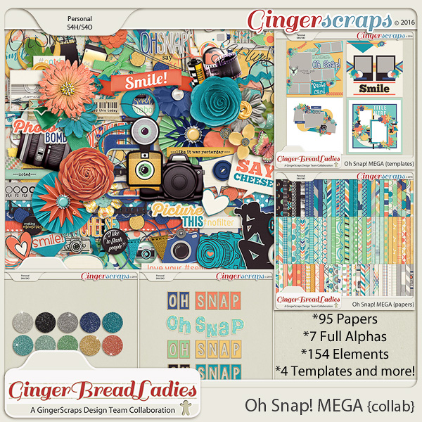 GingerBread Ladies MEGA Collab: Oh Snap!