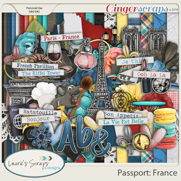 Passport: France Page Kit