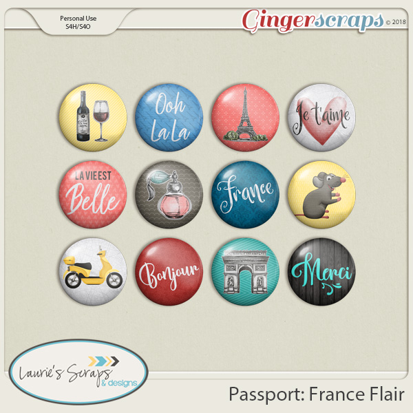 Passport: France Flairs