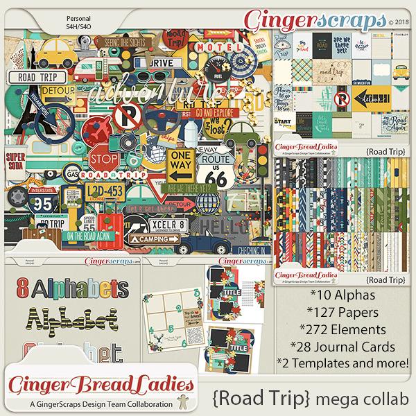 GingerBread Ladies MEGA Collab: Road Trip
