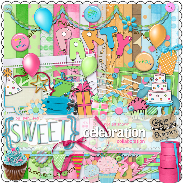 Sweet Celebration preview